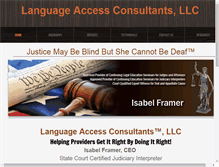Tablet Preview of languageaccess.us